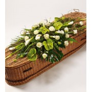 Woodland Casket Spray