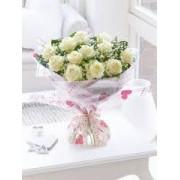 Divine White Roses