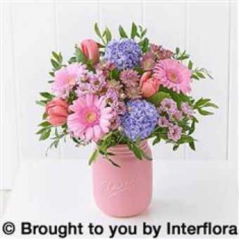 Pretty Blossoms Jar