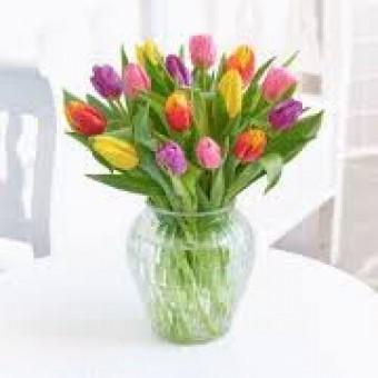 Tulip Delight Vase