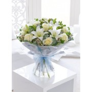 Winter White Extravaganza Hand-tied